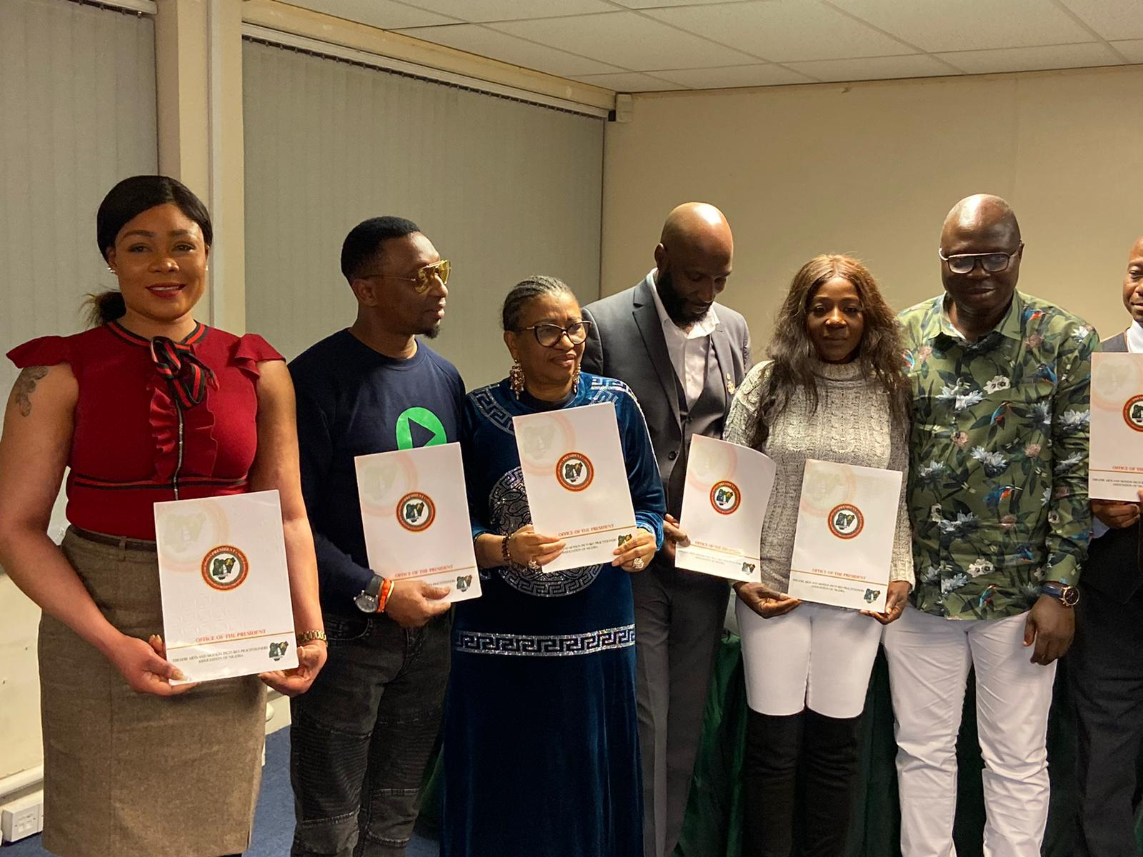 UK Nollywood: New Executives Emerge As TAMPAN Holds First Election (Photos)