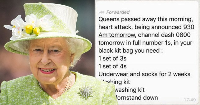 Is the Queen really dead? Royal Navy admits error