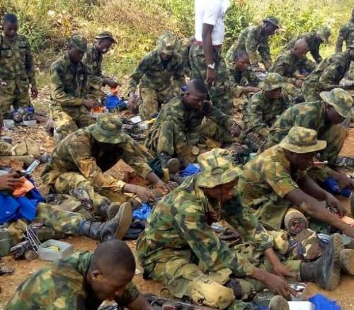 'We've been neglected' Nigerian soldiers threaten to abandon duty post over starvation