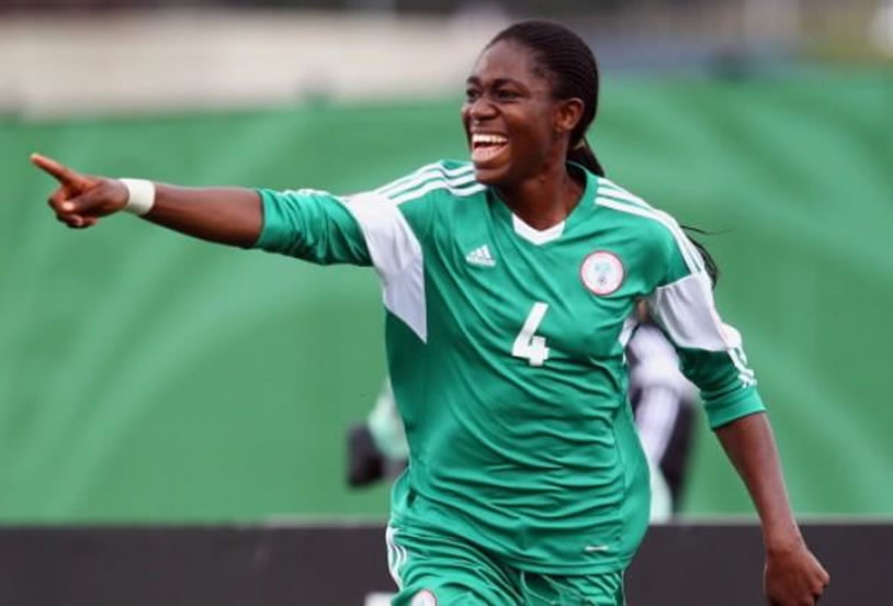Asisat Oshoala crowned African women's player of the year
