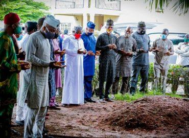 'Aljannah firdaus' Lagos speaker, members visit late Bayo Osinowo family