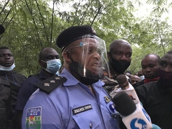 'Election' 30,000 policemen deployed for protection in Ondo