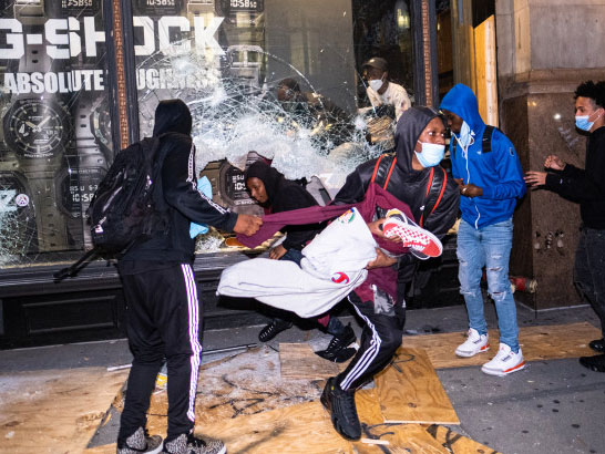 Unemployment benefits to be out of reach for rioters, looters