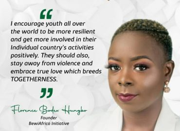 'Get involved!' BEWIAfrica charges youth on national call