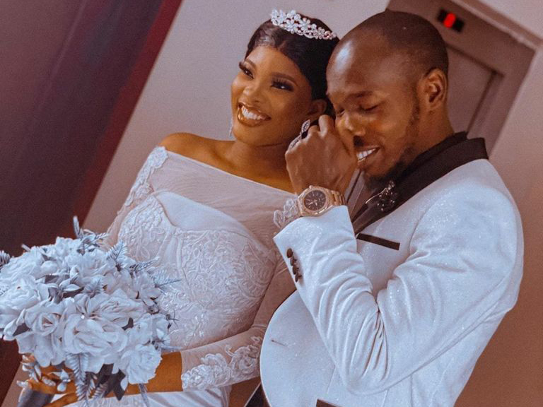 'Congrats not in order?' Nollywood actor, Ijebu, ties knot with heartthrob (Photos)