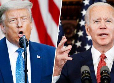 'US election 2020 polls' Who is ahead, Trump or Biden?