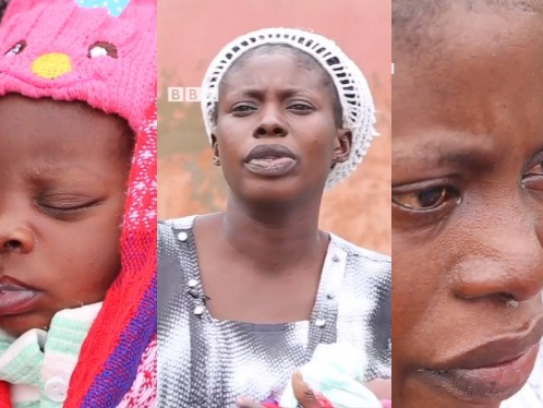 'Unlucky in marriage' Mum of five arrested for dumping newborn confesses (Video)