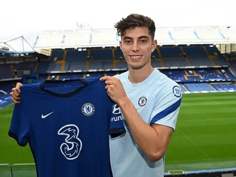 'Gathering…' Chelsea completes Kai Havertz record signing from Bayern Leverkusen