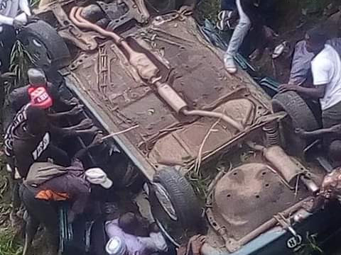 'Sad' Two final year students, Corps member die in auto crash (Photos)