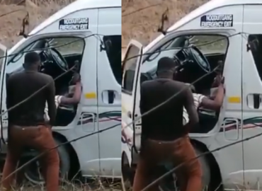 'Indecent!' Taxi driver in trouble for having sex in public (Video)