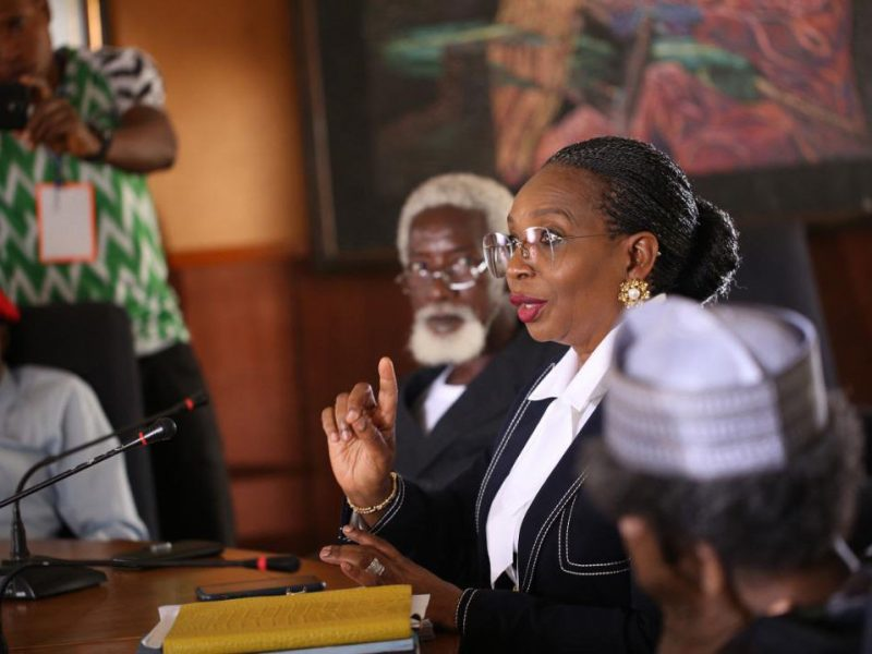 'Citation' Ibukun Awosika makes first appearance in Nollywood movie (Photos)