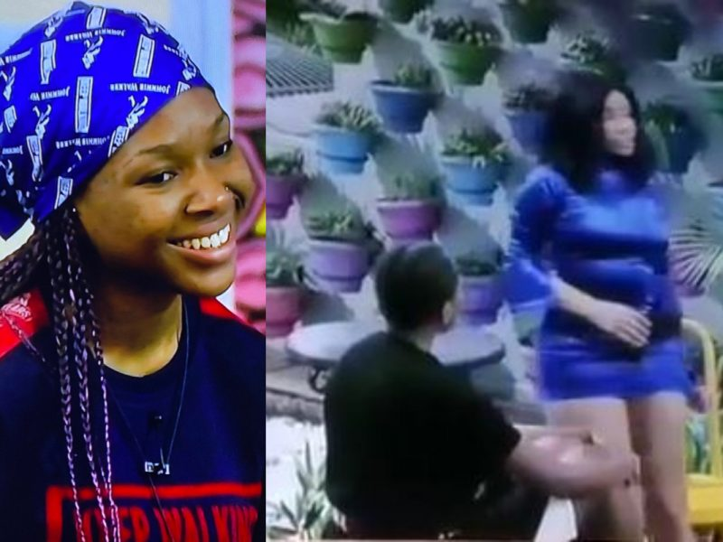 'Your pant's showing!' Moment Vee ordered Nengi to act like a lady (Video)