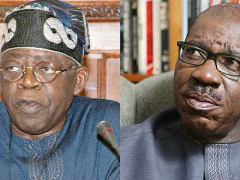 'War against godfatherism' You're desperate, Obaseki replies Tinubu