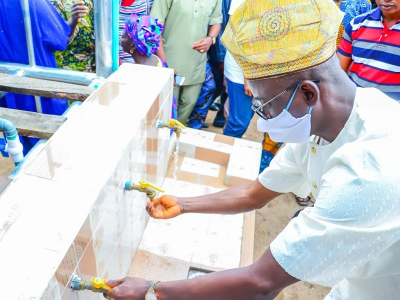 'Delivering dividends…' Council boss commissions new projects in Abeokuta (Photos)