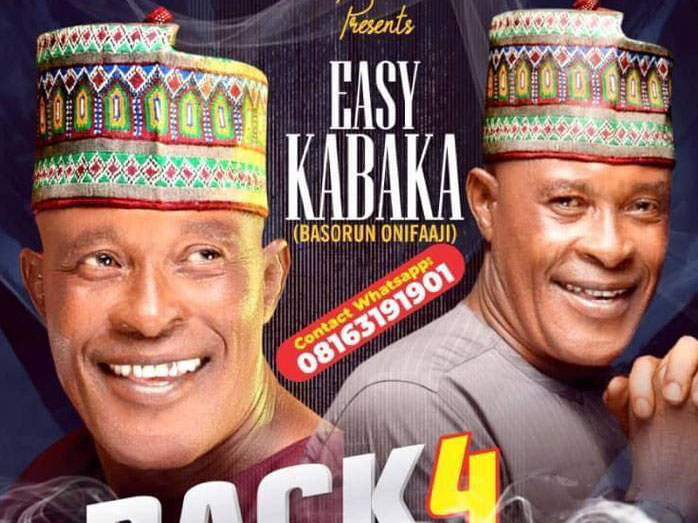 'Easy does it!' Kabaka stages comeback, releases date for new song (Poster)
