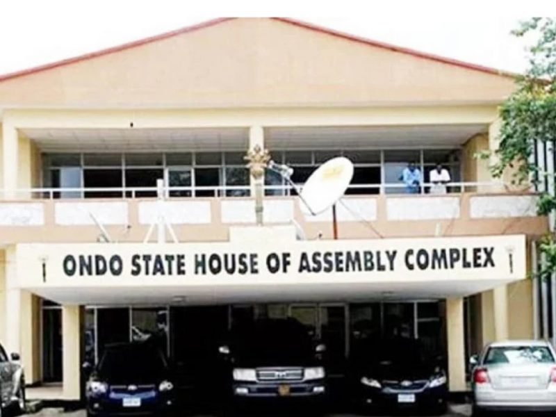 'Ondo politics' Thugs lay siege to House of Assembly
