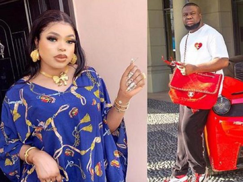 'How can I talk to you?' Bobrisky says he missed Hushpuppi, seeks direction (Photos)