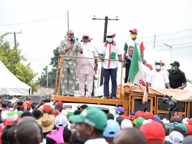 'Edo election' Okowa, Obi laud Obaseki performance, say PDP victory certain