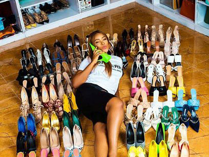 'Twitter street!' Loneliness made Linda Ikeji to buy 85 shoes pairs for 40th birthday