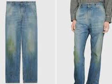 'Hilarious' Reactions trail Gucci grass tainted N462k jeans