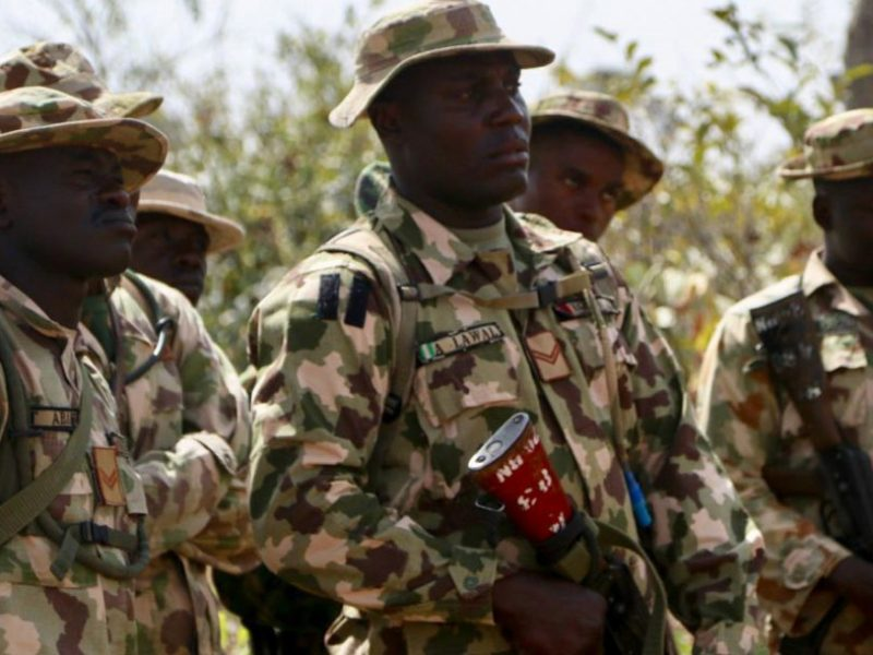 'Sad.' Soldier fighting insurgency commits suicide over 'false' theft accusation