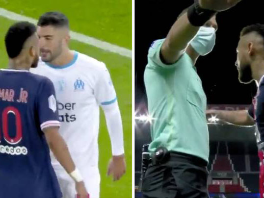 'Racism row' Neymar to face 7 game ban for punching Marseille defender