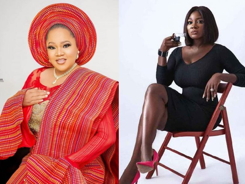 'Lovely' Mercy Johnson celebrates Toyin Abraham on her birthday (See)
