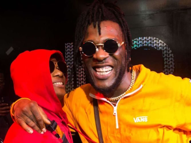 'Cooking something?' Wizkid, Burna Boy set internet on fire (Photos)