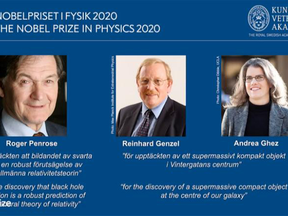 'Congrats!' Nobel Prize in Physics awarded for black hole discoveries to 3 scientists
