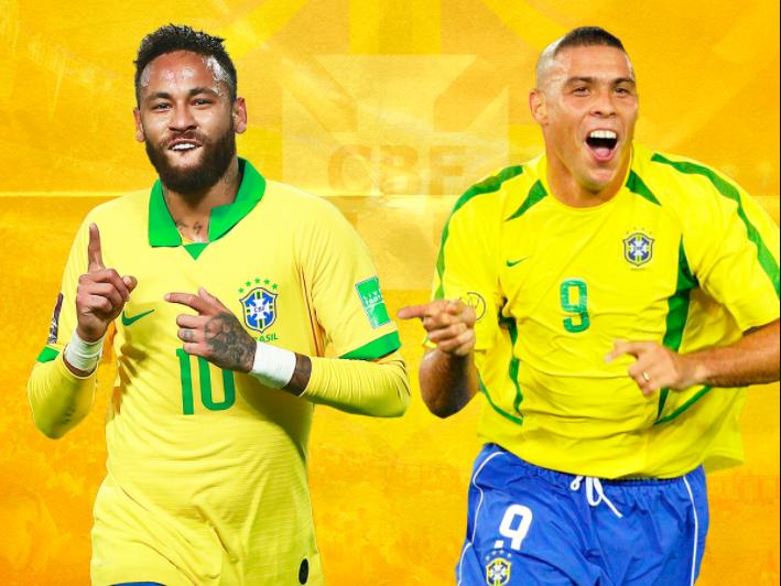 'Golden hat-trick' Neymar surpasses Ronaldo in Brazil's all-time goalscoring charts