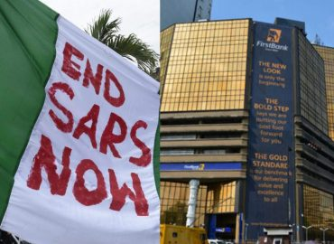 'Not true!' FirstBank debunks rumour on #EndSARS protests