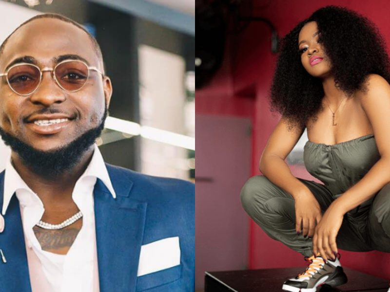 'DMW first lady' Davido finally signs female artist to label