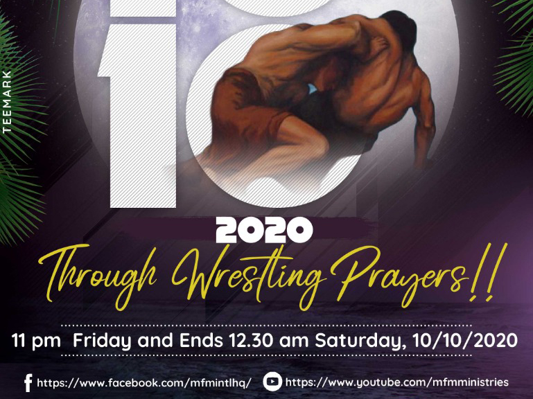 'Divine promotion' MFM Prayers night to hold October 10