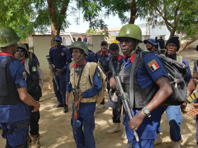 'Curbing crime' NSCDC arrests 29 illegal mining operators in Imo