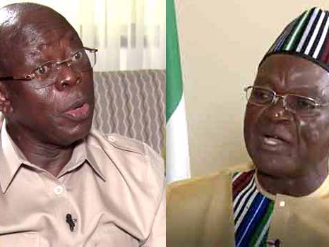 'N10bn suit' Ortom gives condition to forgive Oshiomhole