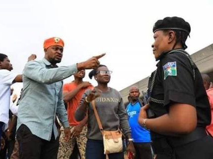 'Revolution Now' Right to protest is fundamentally backed by constitution, CORE tells Police