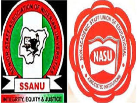 'Warning strike' SSANU, NASU announce plans to begin 14 days nationwide action