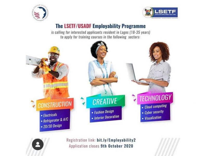'Employability Support Program' Government to train Lagosians in skill development (Apply here)