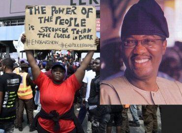 'Am I speaking loud?' Otunba Gbenga Daniel speaks on #EndSARS protests