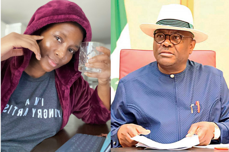 """""""Your mustache says it all, SHAME!"""" Genevieve Nnaji jabs Wike for banning protest in Rivers"""