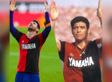 'Maradona tribute' Barcelona fined €3,000 after Messi dedicated goal to legend