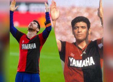 'Maradona tribute' Barcelona fined €3,000 after Messi dedicated goal to legend