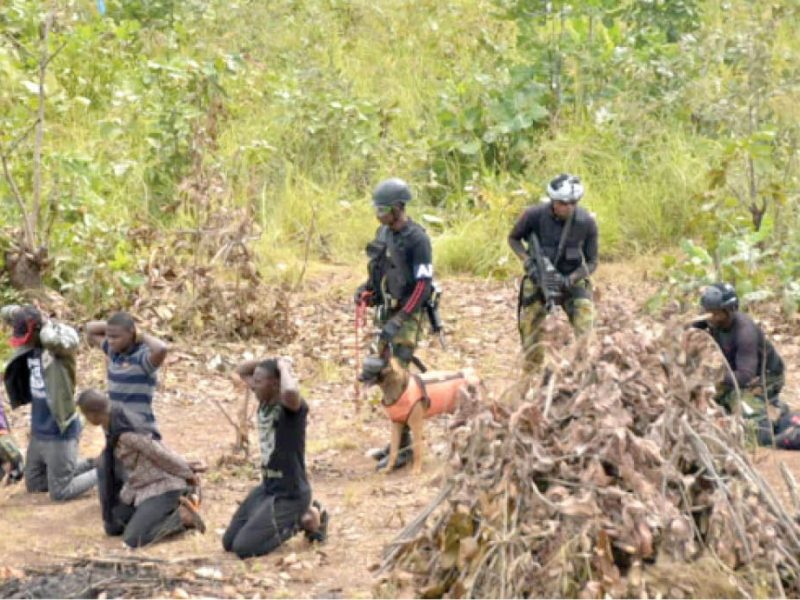 'Operation thunder strike' Troops launch manhunt for bandits' leader, others on Abuja-Kaduna road