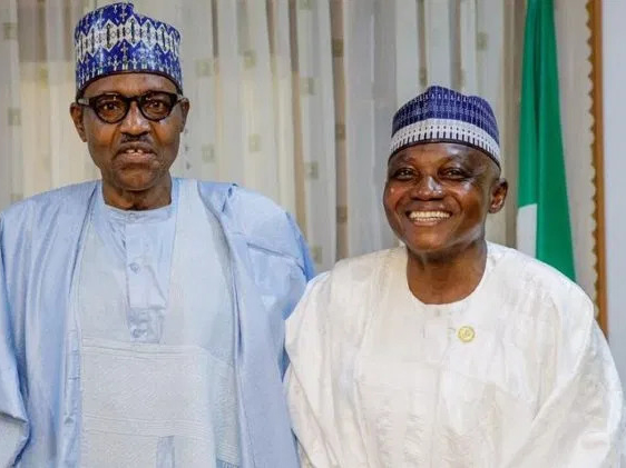 'Open arms' Buhari welcomes COVID-19 vaccine