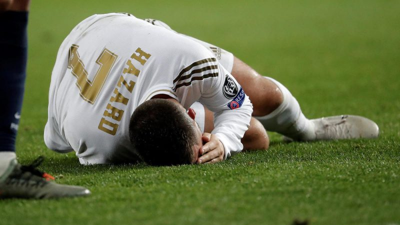 'Another spell on the sidelines' Real Madrid confirm thigh muscle injury for Hazard