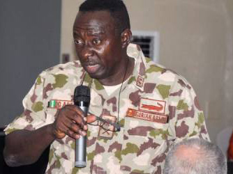 'Demoted!' 8months after, military punishes Major-General Adeniyi over leaked video