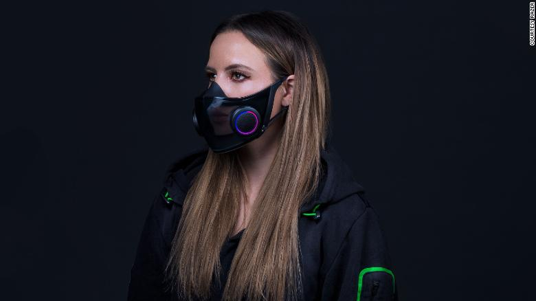 'Project hazel' Razer's new face mask ventilates the air and amplifies your voice