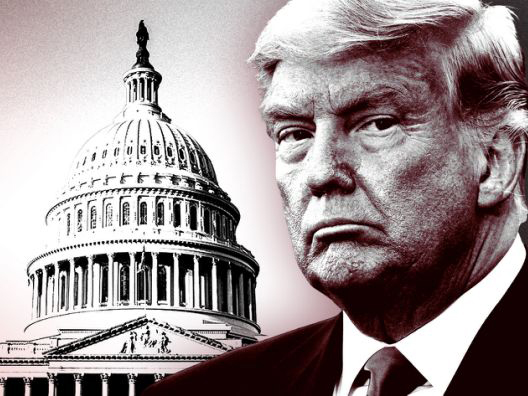 'Impeached twice' Trump makes history as US lawmakers kick him out
