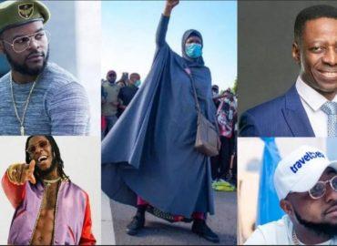 '#EndSARS' Court stops prosecution of Davido, Pastor Sam Adeyemi and others