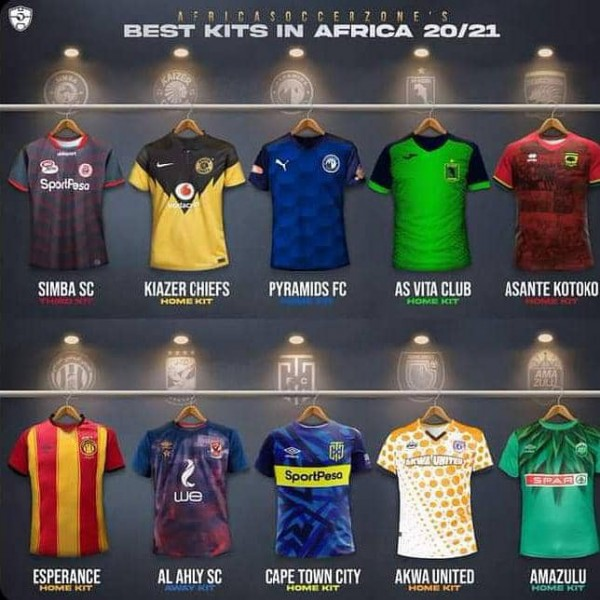'Getting the attention' Owu Sports Wear shines with Akwa United jersey in Africa (Photo)